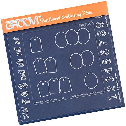 Groovi - A6 Square Plate Mate