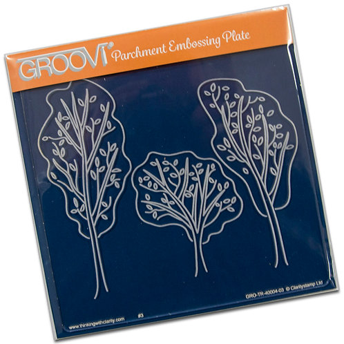 Trees A5 Groovi Plate