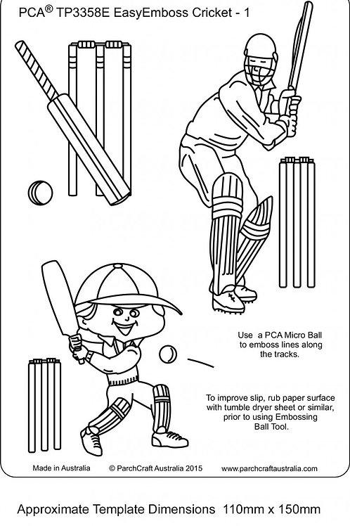EasyEmboss Cricket - 1 ParchCraft Australia