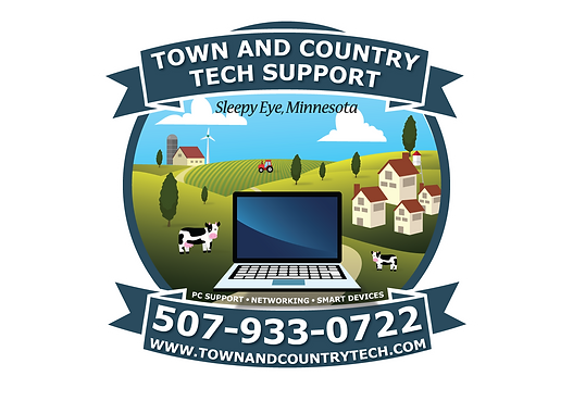 Town And Country Tech Support Logo