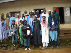 Mbororo community meeting