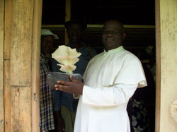 Fr. Ateh rejoices with a dream come true