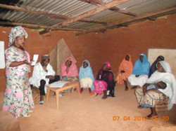 sensitization of NASARA Vegetable Farming Group SABGA