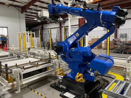 3D Vision Guided Rail Unloading Robot