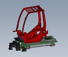 Forklift Frame AGV