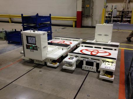 Frame Delivery AGV System