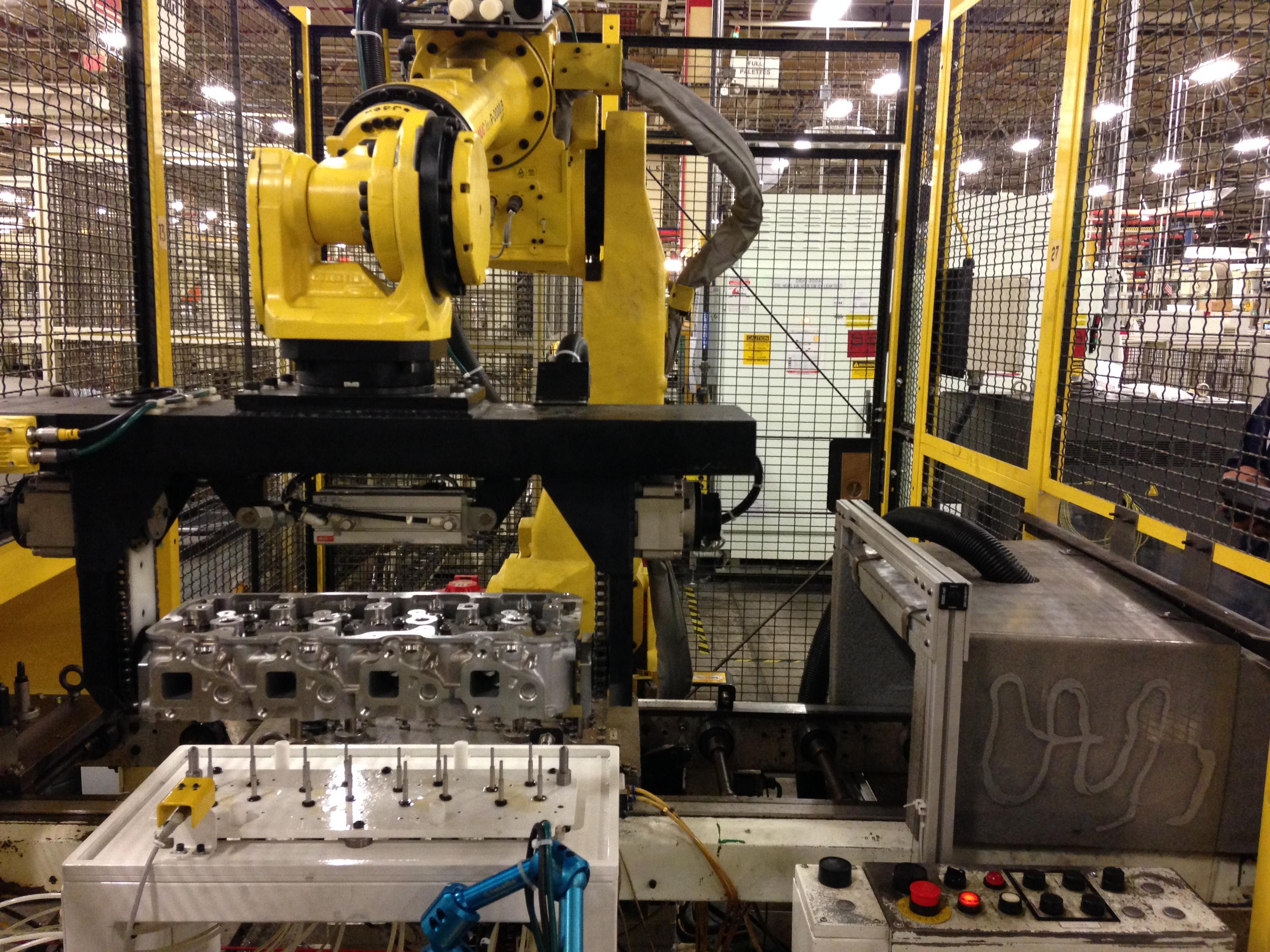 Fanuc Oiler Robot