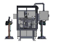 Sealant Machine Front View