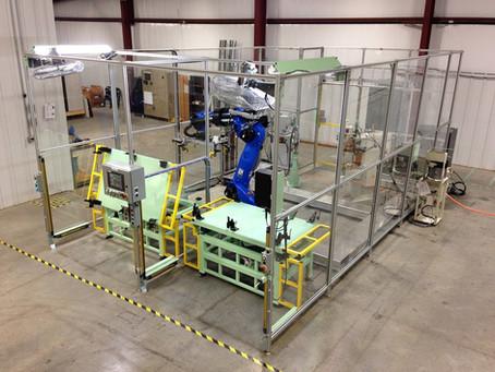 Spot Welding Robot Cell
