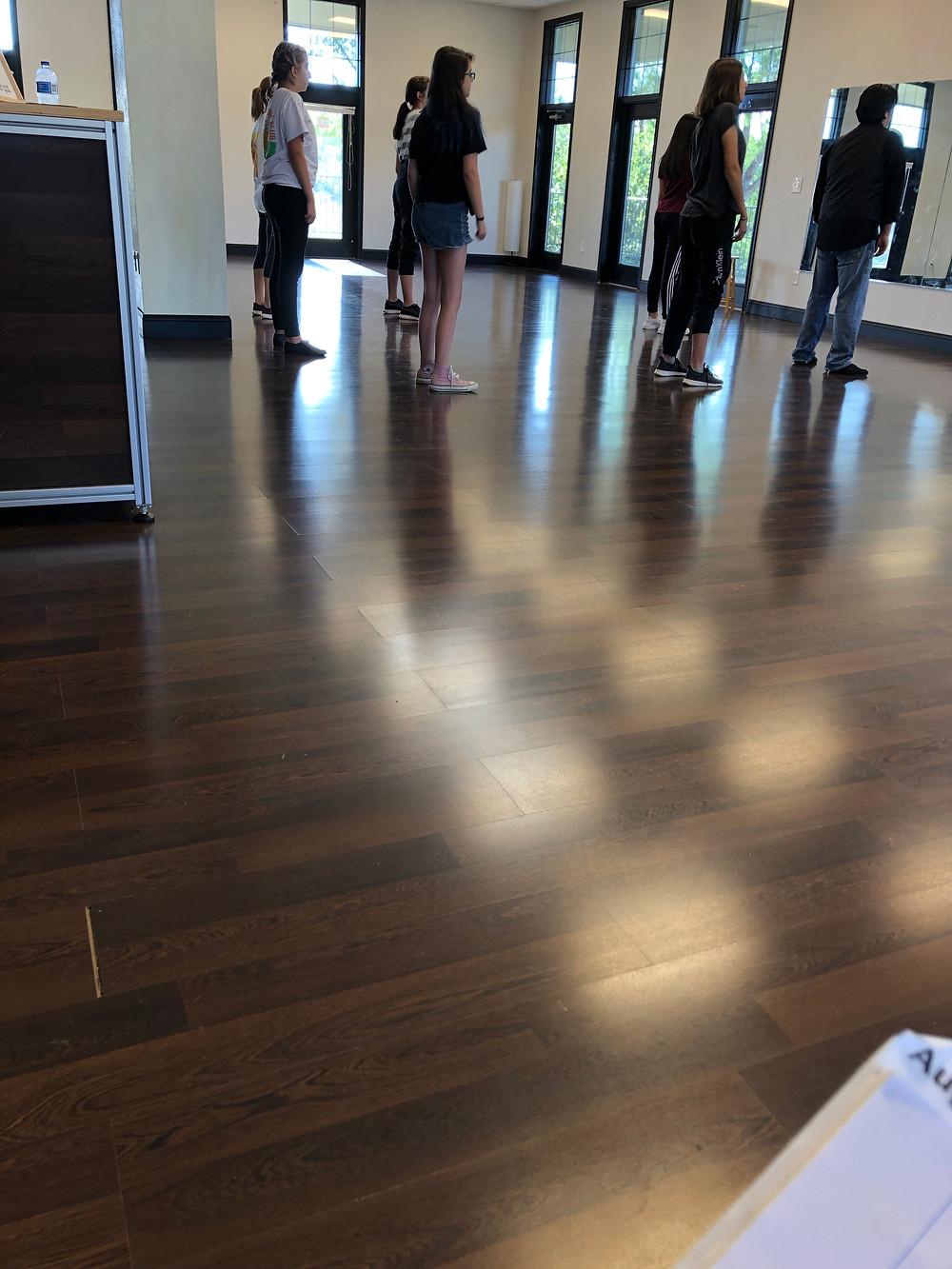 Teen Dance Class Warm Ups