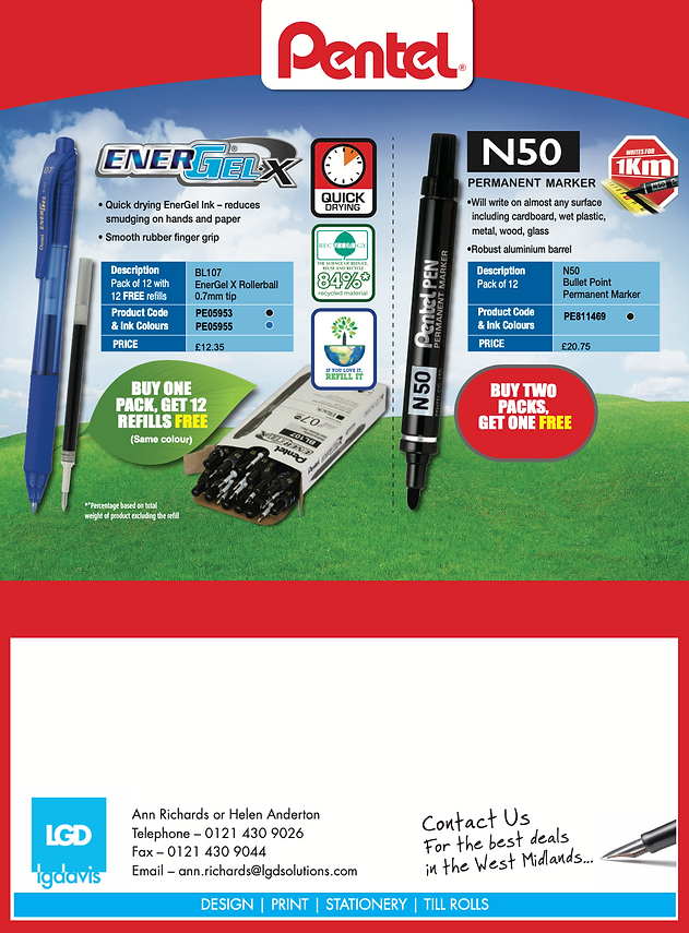 Pentel Offer