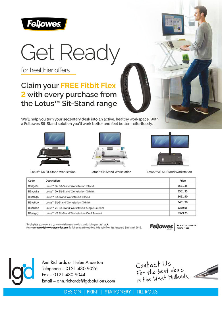 Fellowes sit stand range 22 Jan 2019-pag