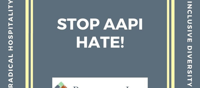 A Statement on Stopping AAPI Hate