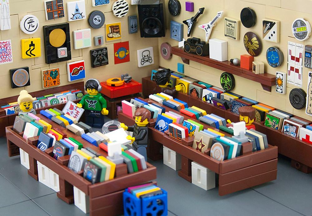 Lego Vinyl Store