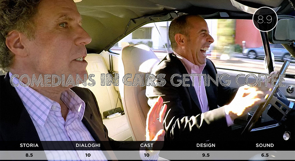 Netflix Comedians in Cars Getting Coffee