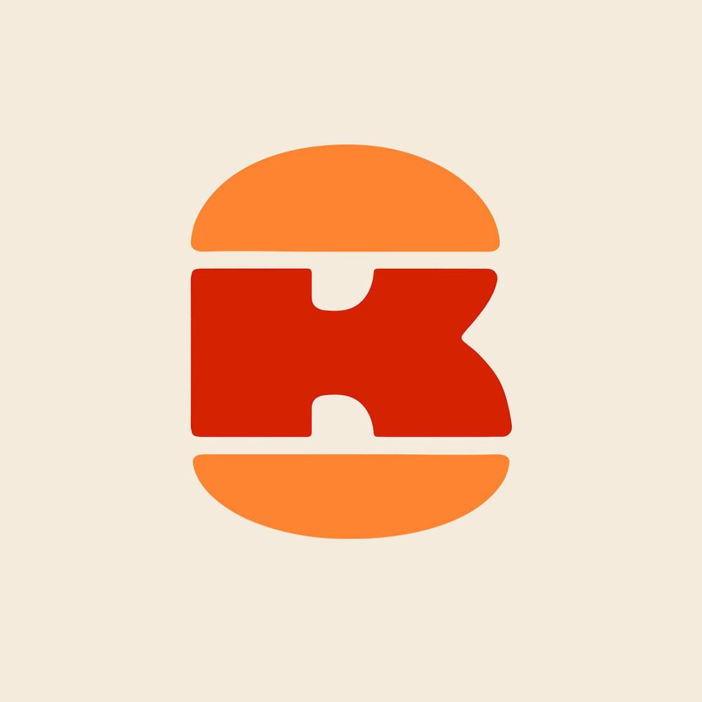 burger king logo monogramma 2021