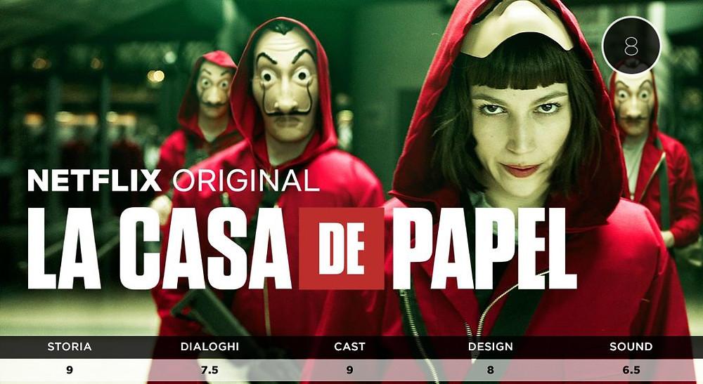 Netflix La Casa di Carta