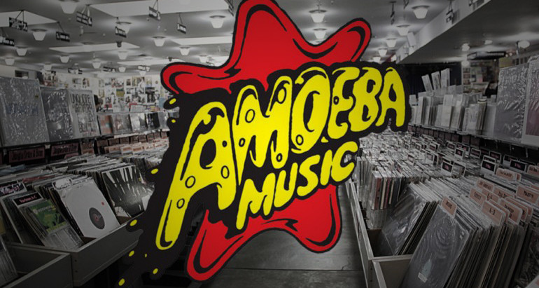 Nei sacchetti di Amoeba Music.