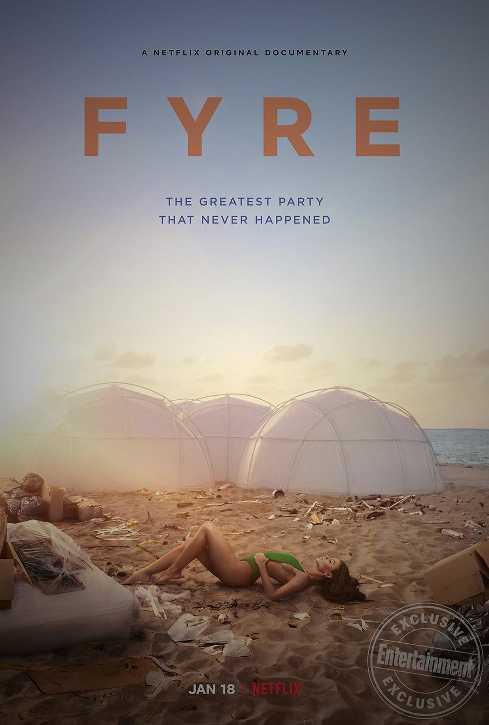 Fyre Festival Poster