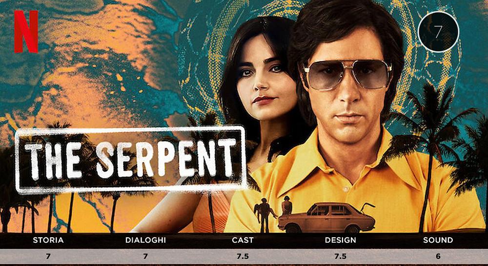 Voti di The Serpent miniserie Netflix