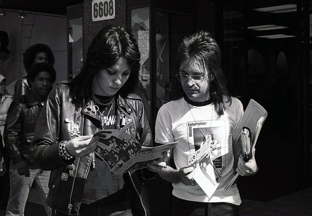 Rodney Bingenheimer Joan Jett