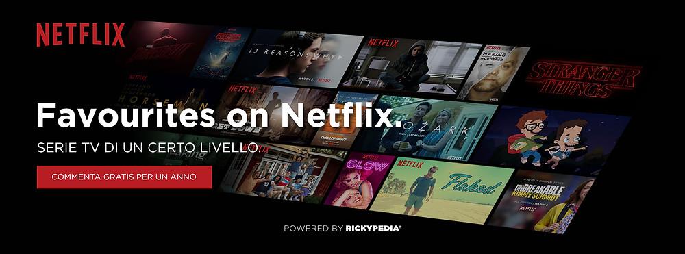 Netflix Favourites Header