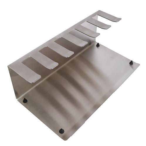 Stainless steel B.Braun cassette holder