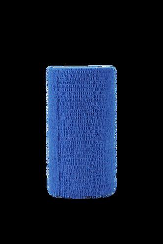 Phoenix Cohesive Bandage blue. Size 100mm x 4.5m.