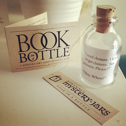 Book in a Bottle Mystery Jars
