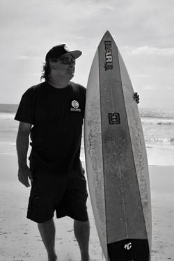 Portrait of Pro Surfer Tony Mata
