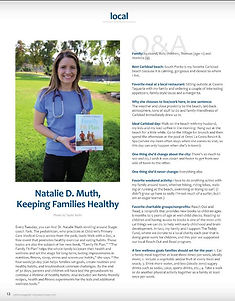 Dr. Natalie Muth for Cbad Mag