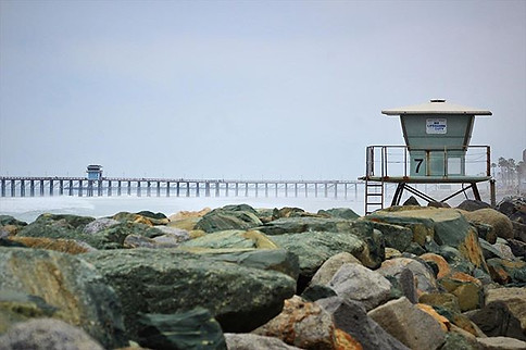 Foggy days  in Oceanside