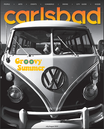 Cover with Carlsbad Magazine Summer 2019