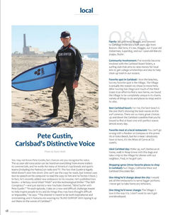 Pete Gustin Feature