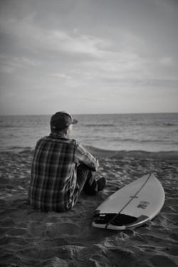 Portrait of Surfer Phil Treibel