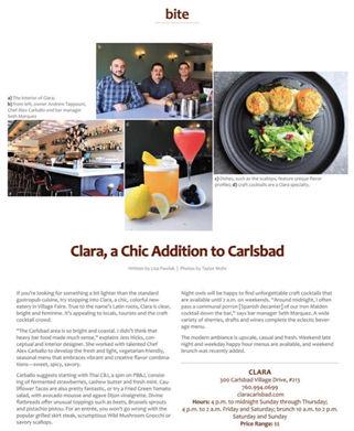 Clara's Opening