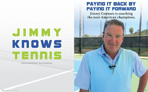 Jimmy Connors Feature 2019