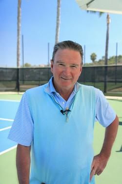 Portrait of Tennis Legend Jimmy Connors