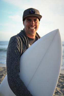 Portrait of Surfer Jake Blackburn