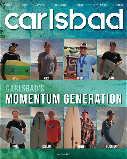 Carlsbad Magazine Cover June 2019