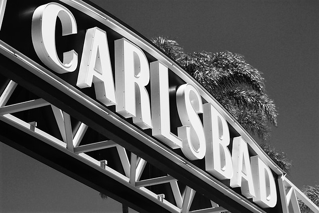 The Carlsbad Sign