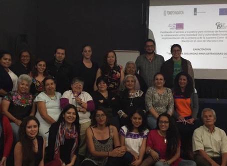 COMUNICADO | OCNF y casi 100 OSC exigen protección para Consorcio Oaxaca.