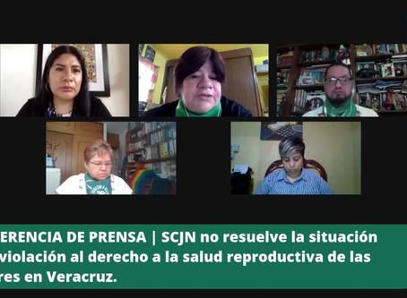 COMUNICADO | SCJN no resuelve la violación al derecho a la salud reproductiva de las mujeres.