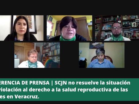 COMUNICADO   SCJN no resuelve la violación al derecho a la salud reproductiva de las mujeres.