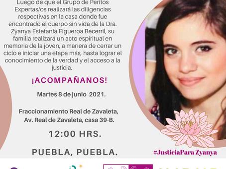 COMUNICADO | Familia Figueroa Becerril realiza acto espiritual de despedida.