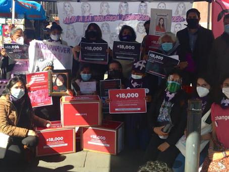 COMUNICADO    México sucumbe ante la violencia feminicida: OCNF.