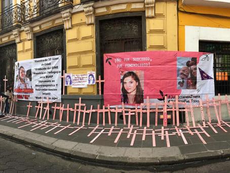 CARTA PÚBLICA   Madres de víctimas de feminicidio piden ¡Alto al feminicidio en Puebla!