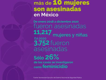 Violencia contra las Mujeres en México | Informe del OCNF, CDD y REDTDT al Comité CEDAW.