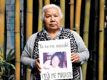 """""""El peregrinar para acceder a la Justicia en México"""": Irinea Buendía en el Foro Generación Igualdad."""