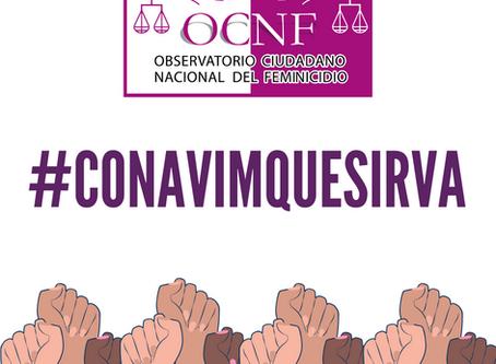 COMUNICADO | OCNF pide a CONAVIM saldar deuda histórica con las mujeres en México.